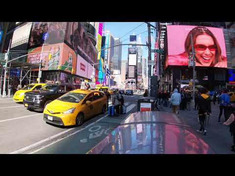 Walking Manhattan, Times Square #4 NYC [4K]