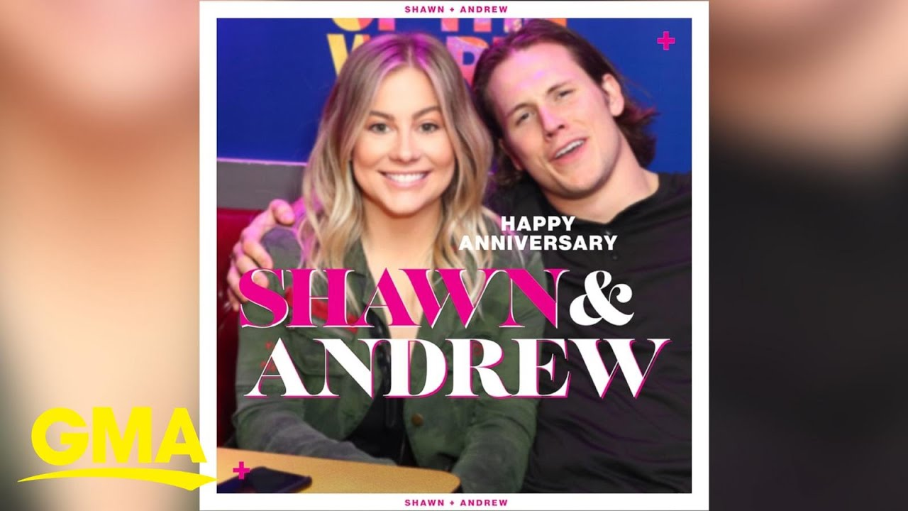 Happy anniversary Shawn Johnson and Andrew East! | GMA