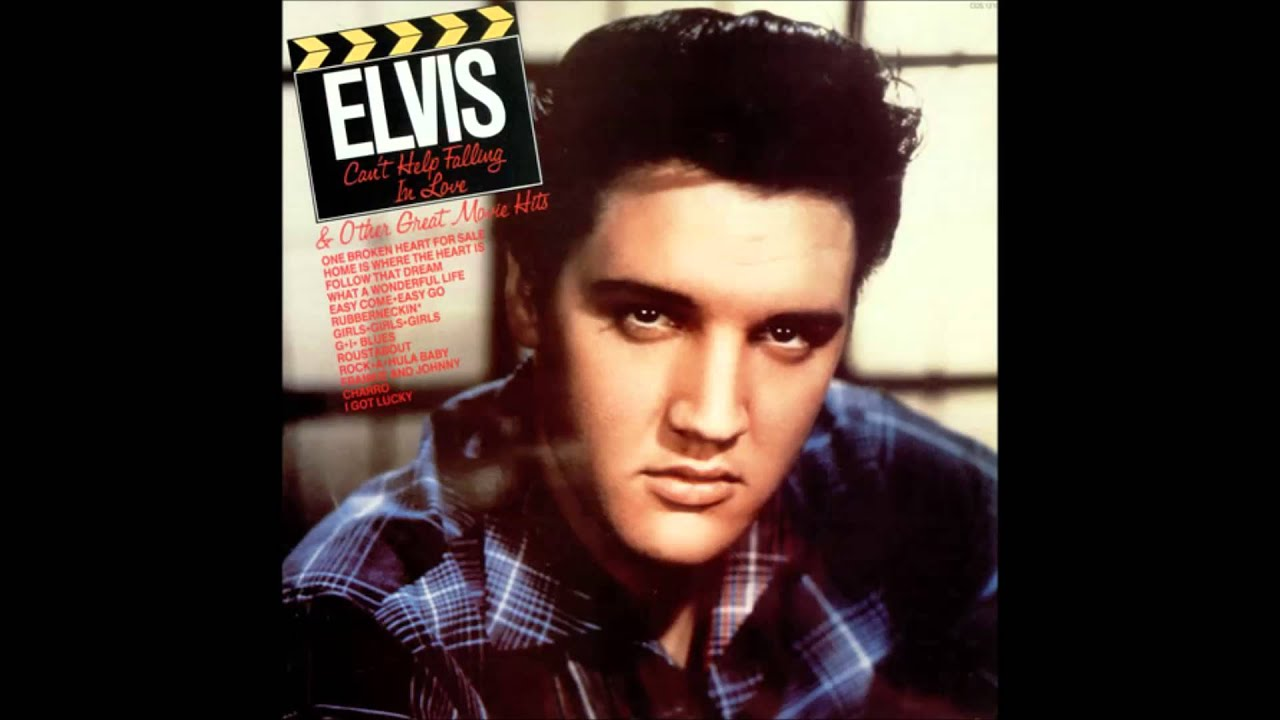 Cover of Elvis prestley`s Cant help falling in love.