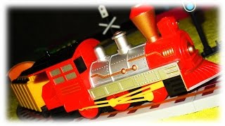 Video For Children - «classic Freight Train Strela» Toy Model Railway With Train