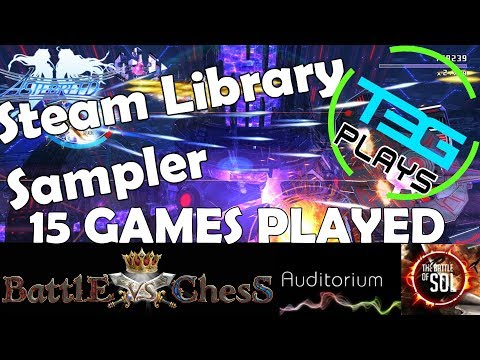 Steam Library Sampler! AR-K, The Architect, Astebreed and more! | T3G Live