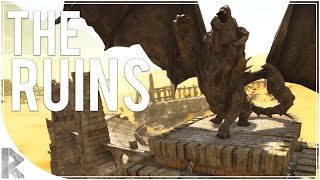 Exploring the Colosseum! - Ark Survival Evolved Scorched Earth DLC - Part 5 (Ark Scorched Earth)