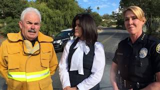 Bilingual City of Santa Barbara #Thomas Fire Update, Wednesday, December 2017