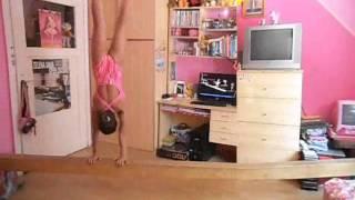 Gymnastics on my balance beam