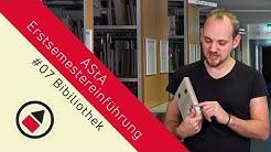 Die Bibliothek an der Frankfurt UAS - Anmeldung, Leihfristen, Aufbau & Räumlichkeiten | ESE #07