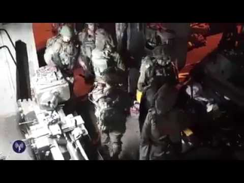 Soldiers dismantle weapons manufacture operation (Media Resource Group)
