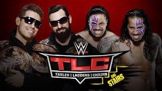 The Miz & Damien Mizdow vs. The Usos- WWE TLC - WWE 2K15 Simulation