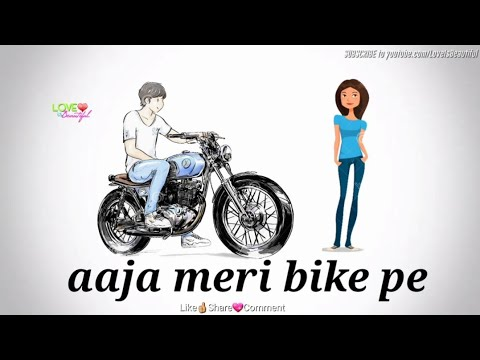 AAJA MERI BIKE PE | Tony Kakkar | Funny WhatsApp Video | Status for Boys and Girls | Love Romantic