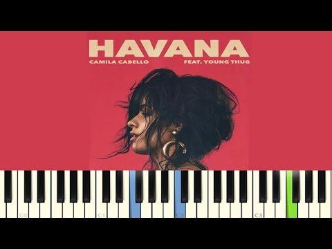Havana - Camila Cabello (Piano Tutorial)