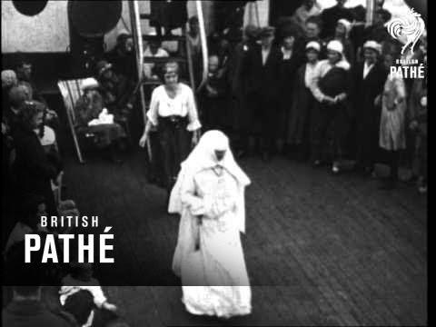 Passenger Liner Trip (1920-1929)