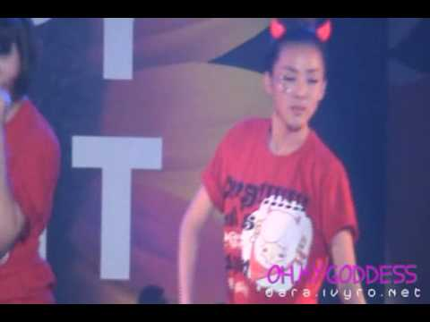 I Don't Care -2NE1(FanCam, Jun 12, 2010)