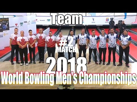 2018 Bowling - World Bowling Men's Championships - Team #2 - Canada VS. Italy