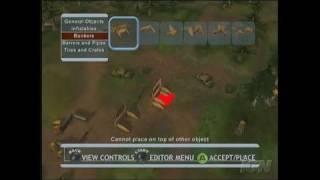 Splat Magazine Renegade Paintball Xbox Gameplay - Map