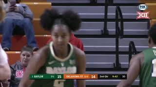 Baylor vs Oklahoma State Women's Basketball Highlights