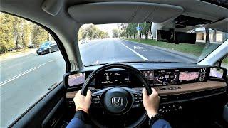 Honda E electric (iPhone on wheels!)  - POV Test Drive.  Interior, Exterior, GoPRO...