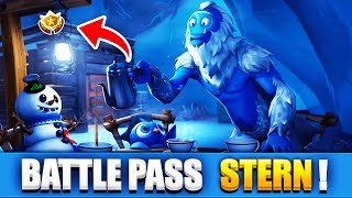 FREE BATTLE PASS STAR!! (Free Level in Week 5) - Fortnite Season 7