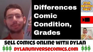 How to Grade Vintage Comics| Sell Comic Books Online with Dylan Universe Comics