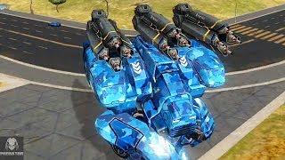 MAX Fury Thermite Obliterating Enemies | Intense Heavy Damage Gameplay | War Robots