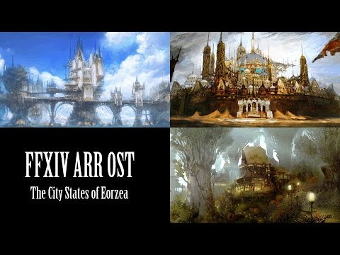 FFXIV OST  The City States of Eorzea - A Realm Remembered