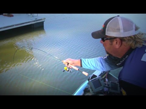 Dock Shooting for Crappie Fishing Success