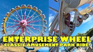 Enterprise Wheel AWESOME Classic Amusement Park Ride! 4K Onride POV Drievliet The Netherlands