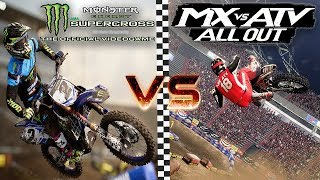 Mx vs Atv All Out & Monster Energy Supercross - The Official Videogame