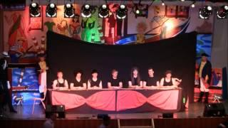 KKD Prinzen - Tischklatschnummer und kopfloser Mann / Karnevalsitzung 2012