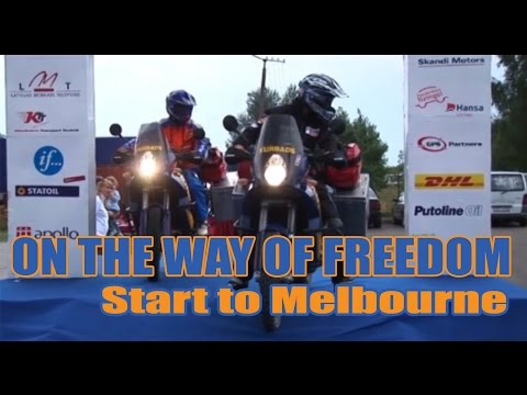 On the way of freedom: start to Melbourne #1
