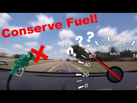 The Most Efficient Driving Speed - An MPG Experiment
