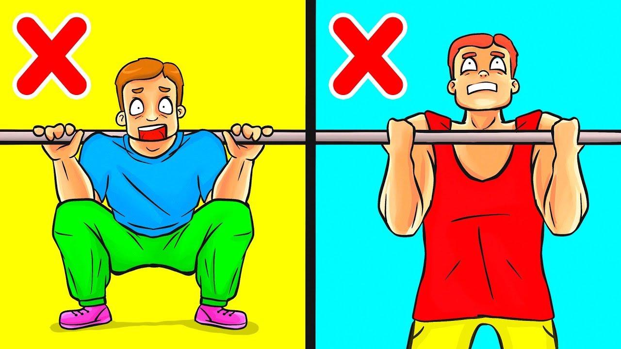 10 Упражнений Для Мужчин, Чтобы Нарастить Мышечную Массу