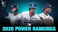 2020 MLB Top 20 Power Rankings (Offseason Edition) | Where did the Yankees, Dodgers end up?