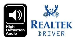realtek audio manager
