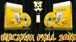 RECUVA PRO 2016 ★ FULL ★PARA WINDOW 10