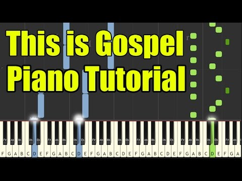 This is Gospel | Panic! At the Disco | Piano version tutorial | Normal Speed |