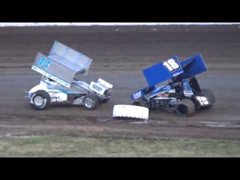 Grays Harbor Raceway, Fred Brownfield Classic 2019, Night 1, ASCS National Series A-Main