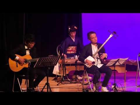 Hogaku ensemble feat. shakuhachi, ryuteki, tsugaru-shamisen & koto [classical Japanese music]