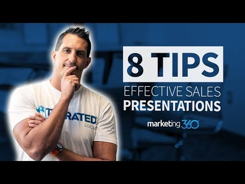 Sales Presentation Tips to Help You Close More Deals | Marketing 360