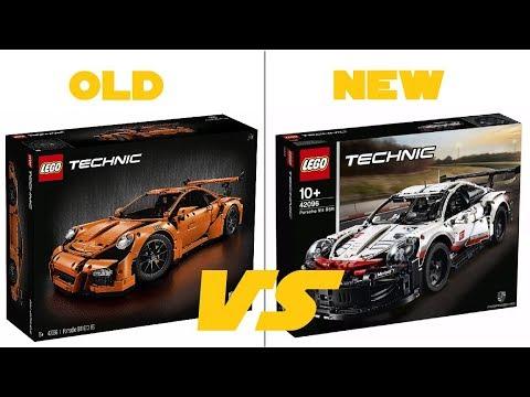 lego technic 2019 42096 porsche 911 rsr official hq pictures comparison youtube. Black Bedroom Furniture Sets. Home Design Ideas