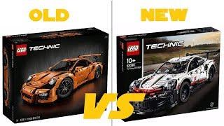 LEGO TECHNIC 2019 - 42096 Porsche 911 RSR - OFFICIAL HQ-PICTURES + COMPARISON