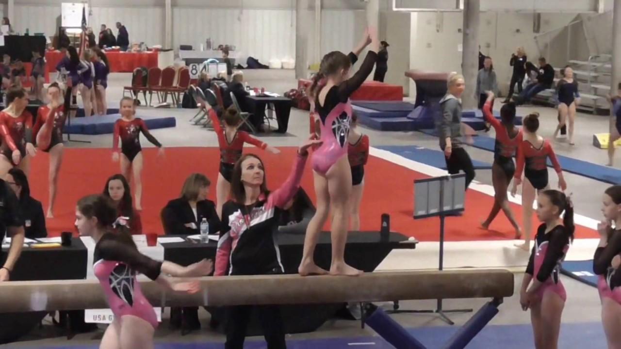 Pioneer Gymnastics State Meet December 17 2016 Youtube