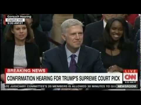 The Neil Gorsuch Confirmation Hearings