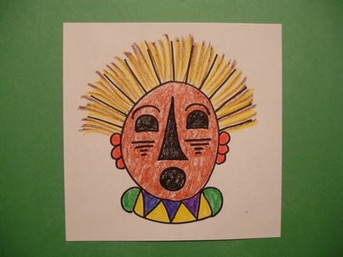 Let's Draw an African Mask!
