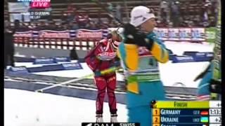 Серебро Украины в эстафете на ЧМ в Ханты-Мансийске