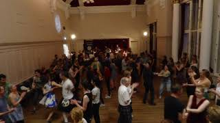 Dancing at Edinburgh Ceilidh Club on Tuesday 3rd September with HotScotch Ceilidh Band