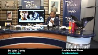 Olympian John Carlos comments about Donald Sterling and his racist comments I Joe Madison