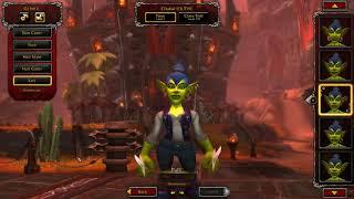 New Goblin Model Malefemale  World Of Warcraft Ptr 8.2.5
