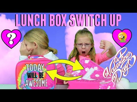 THE LUNCH BOX SWITCH UP Challenge!!!
