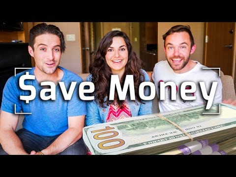 HOW TO SAVE MONEY WHILE TRAVELING W/ RAYAWASHERE