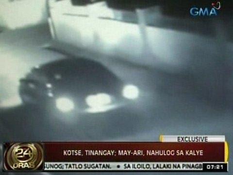 24Oras: Exclusive: Kotse, tinangay sa San Miguel, Bulacan