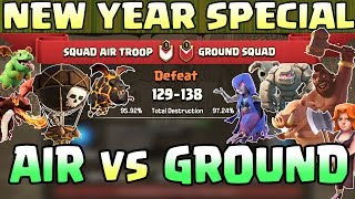 NEW YEAR SPECIAL | Town Hall 9 ( TH9 ) | AIR TROOPS vs GROUND TROOPS | War Event | Clash Of Clans